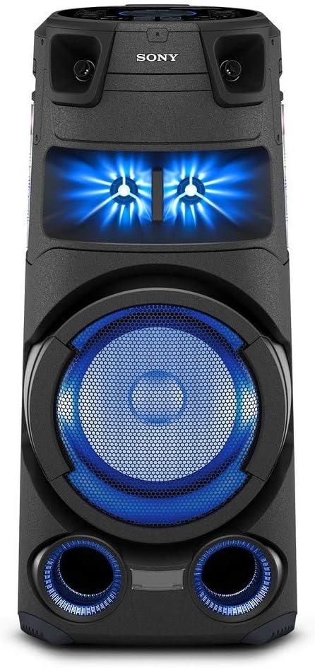 Sony MHC-V73D - Altavoz de Alta Potencia (High Power Bluetooth Party Speaker) con el Sonido y Luces de Fiesta omnidireccional