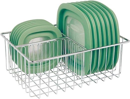 mDesign Organizador de tapaderas – Práctica cesta de almacenaje ...