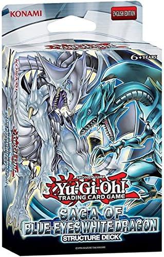 YuGiOh Saga of Blue-Eyes White Dragon Structure Deck SDBE New /& Sealed TCG Cards