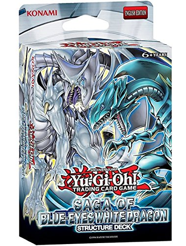 Yu-Gi-Oh! Saga of Blue Eyes White Dragon Structure Deck Yu-Gi-Oh! Cards 11887