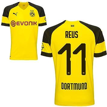 Camiseta Puma BVB Borussia Dortmund (del equipo local alemán) 2018-2019, para hombres, con nombre de jugador, Reus, 152: Amazon.es: Deportes y aire libre