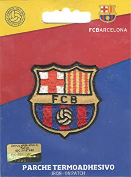 dce1cf4bfd0e M   C Ecusson Thermocollant Club Foot FC Barcelone 7,50 x 7,50 cm ...