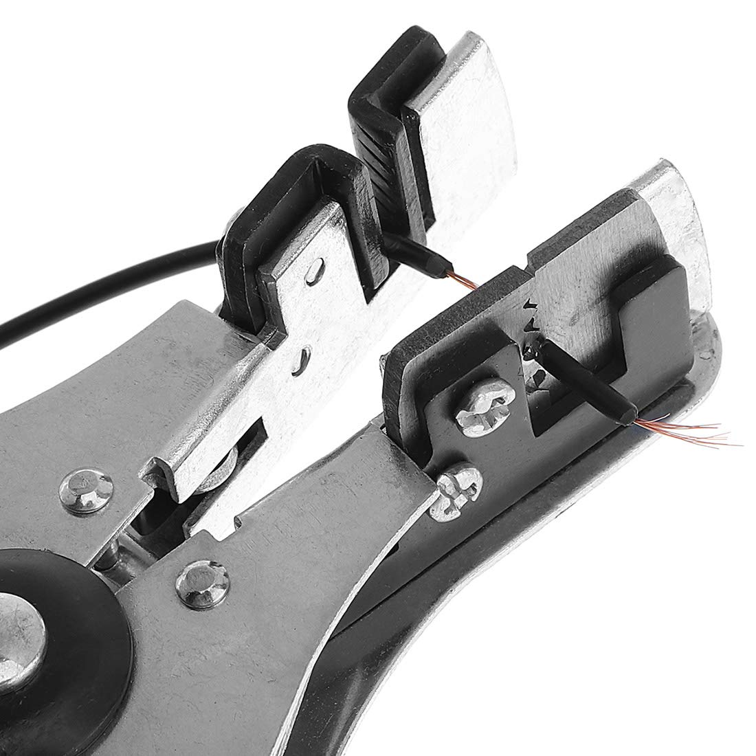 engarzar cortador de alambre y pelacables OriGlam Pelacables de precisi/ón de 7 pulgadas pelacables autom/ático alicates m/últiples para pelar cortador de cables cortar