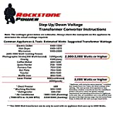 Rockstone Power 5000 Watt Voltage Converter