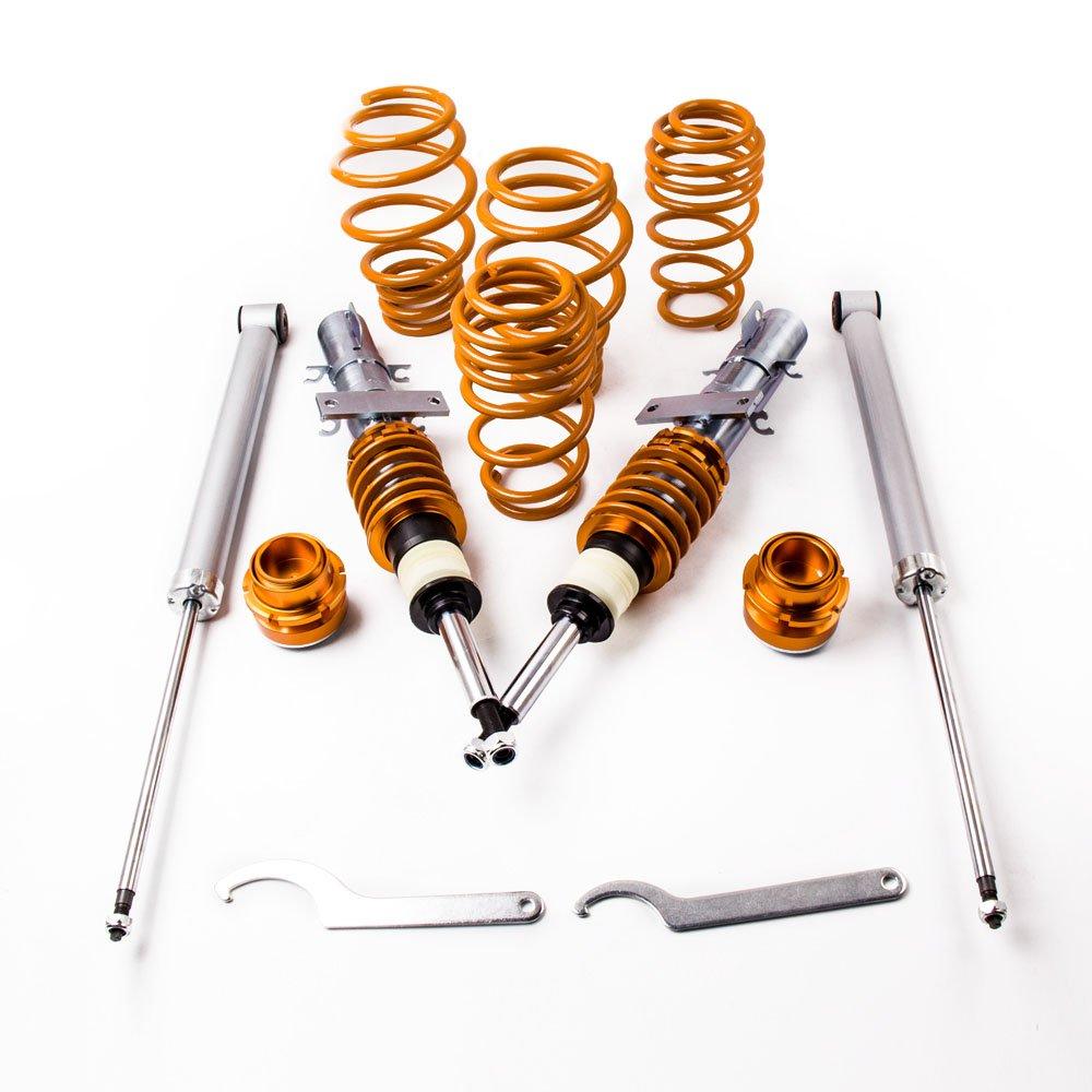 maXpeedingrods Amortiguador de Muelle Coche Auto para Polo 4 MK4 9N