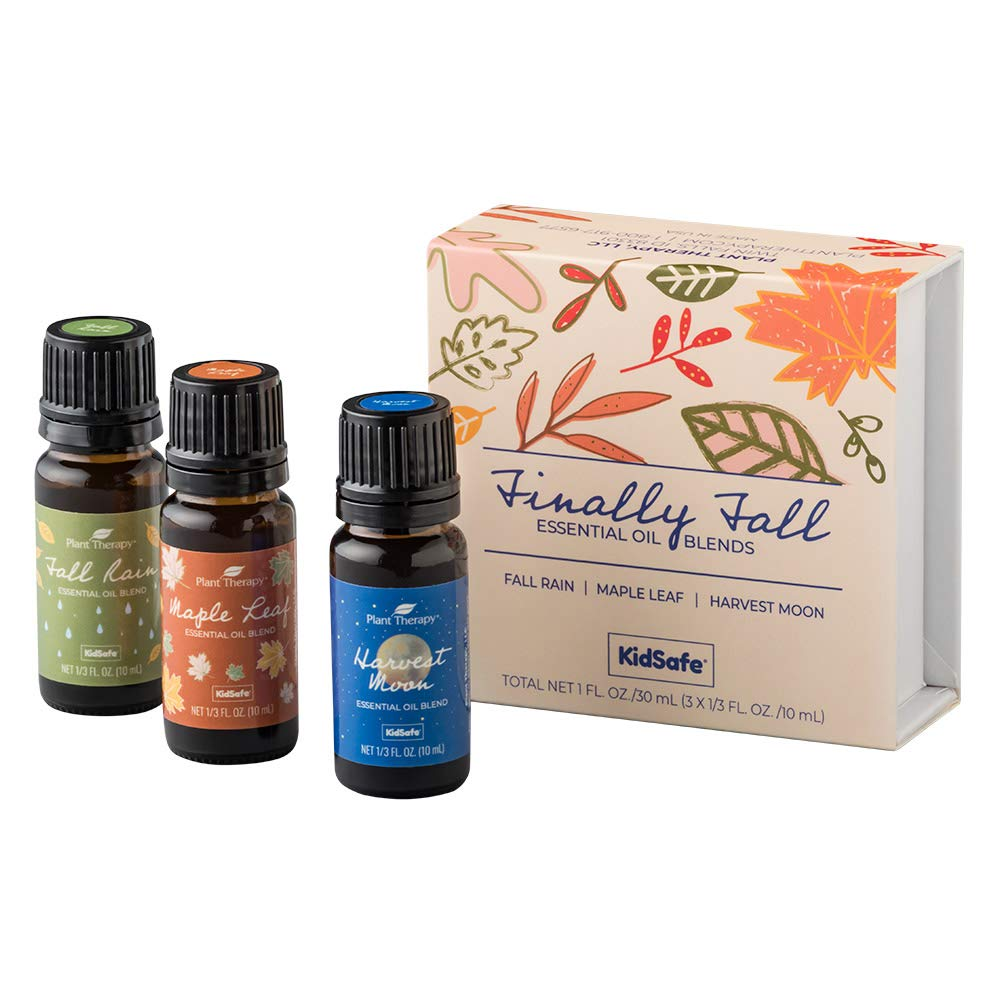 Plant Therapy Finally Fall Essential Oil Blend Set 100% Pure, Undiluted, Therapeutic Grade by Plant Therapy