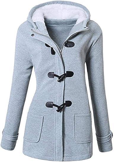 Meihet Chaqueta con capucha y capucha con capucha clásica de ...