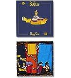 Happy Socks CONFEZIONE REGALO THE BEATLES COLLEZIONISTI Scatola confezione da 3