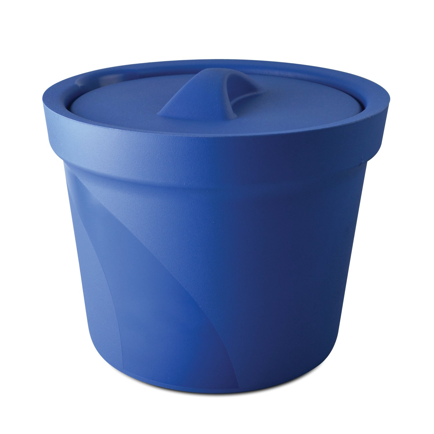 Bel-Art M16807-4001 Magic Touch 2 High Performance Blue Ice Bucket; 4.0 Liter, With Lid