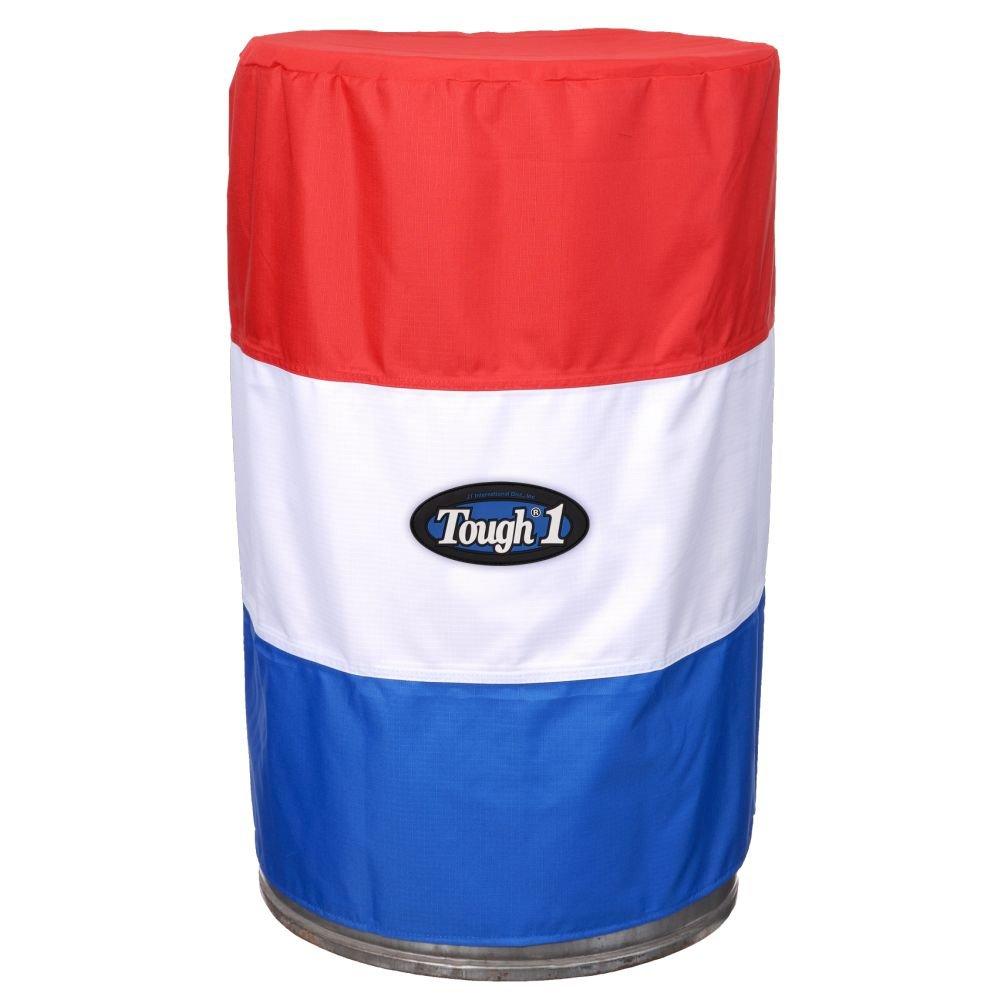 Tough 1 Barrel Cover Set Red/White/Blue by Tough 1 (Image #1)