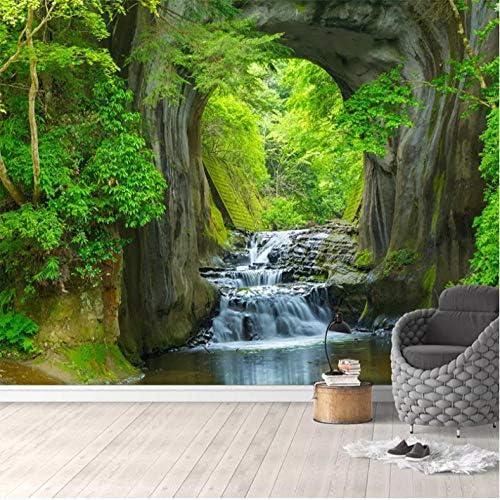 Xxzzdn カスタム壁布壁紙3D淡水森林自然風景壁壁画リビングルームテレビソファ寝室ホームデコレーション壁画-150X120Cm