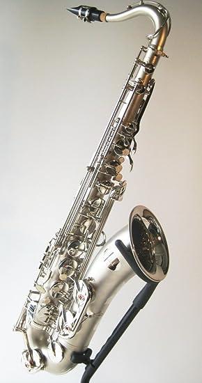 Steinbach Bb Tenorsaxophon Silber mit hohem FIS inkl Koffer