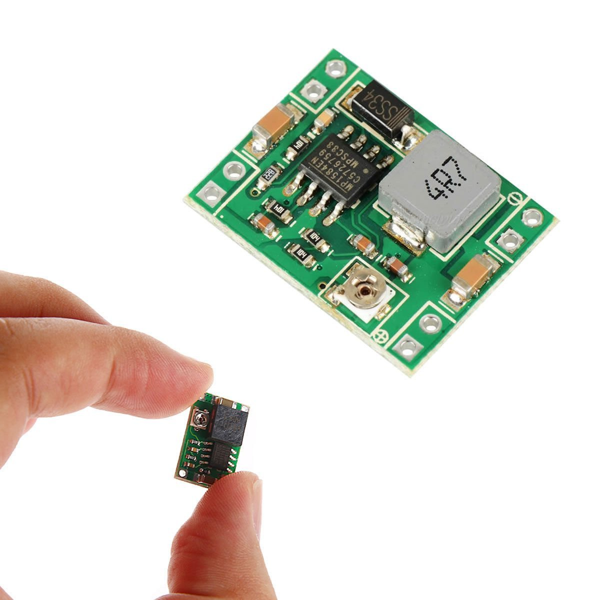 Lanmu Mp1584en Dc 3a Converter Adjustable Step Down Power Supply 5v To 12v With Lt1073 Module Replace Lm2596 24v 9v 3v Computers Accessories