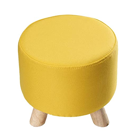 Amazon.com: GWM Upholstered Footstool, Sofa Stool Ottoman ...