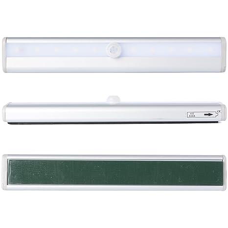 XCSOURCE Lámpara Cocina Luz LED Ahorradora Energía Detector Movimiento Sensor Vibración Blanca LD466