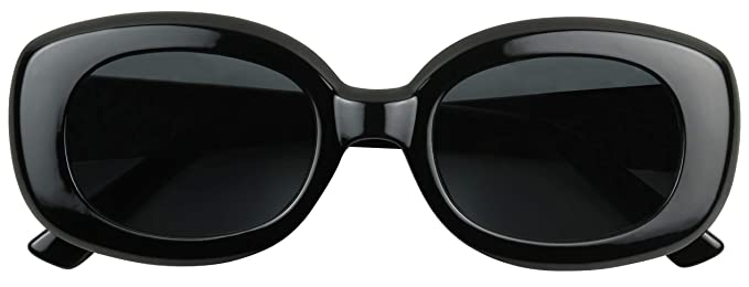 bc272752766b ShadyVEU - Bold Square Thick Block Frame 60's Inspired Jackie'O Retro  Oversize Vintage Sunglasses