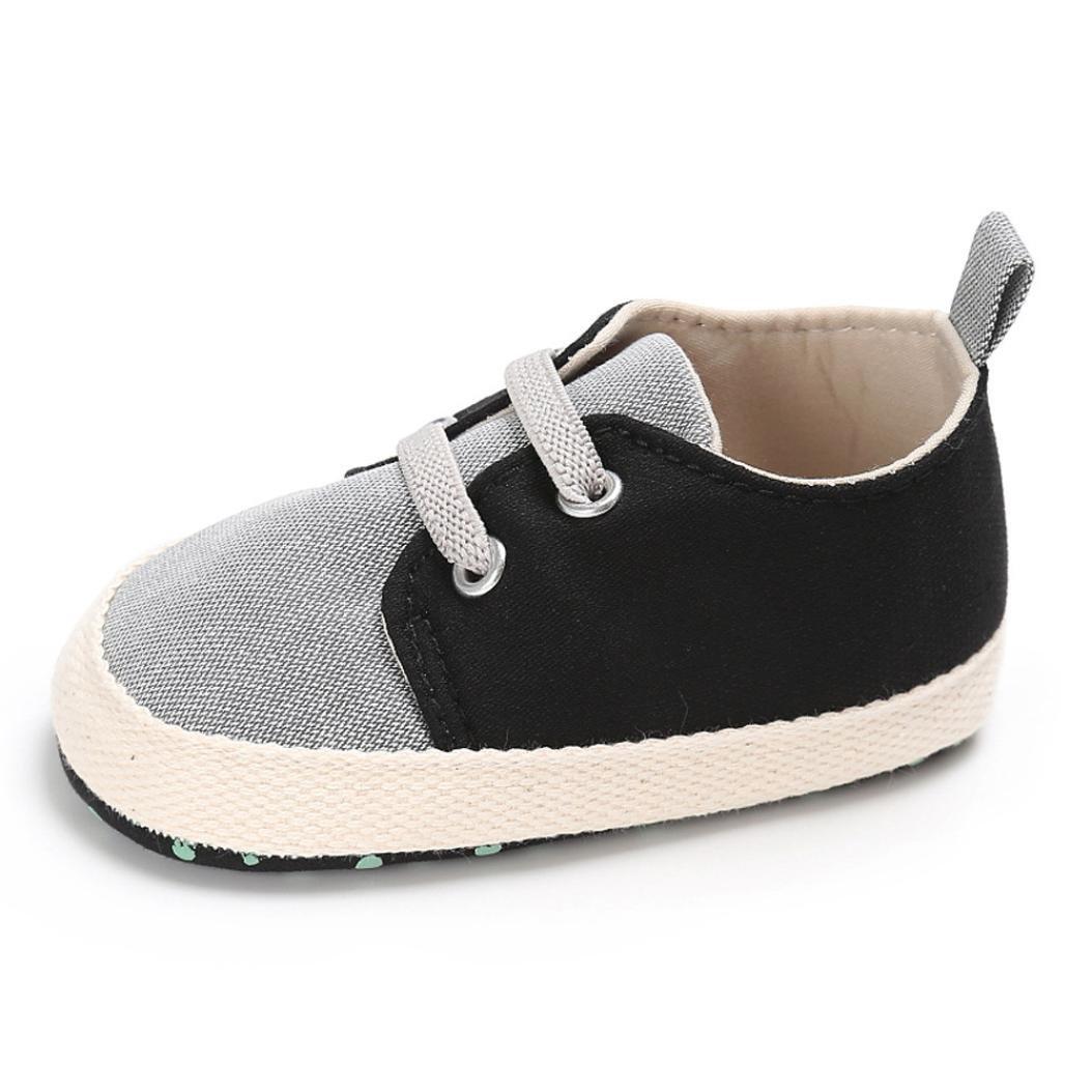 Kobay Neugeborenes Baby-Weiches Sole-Krippe-Kleinkind-Anti-Rutsch-Schuhe Nettes Verband