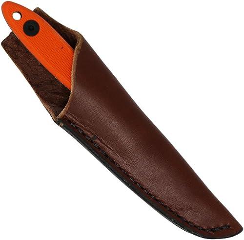ESEE Knives, Camp-Lore, Cody Rowen 2.5, Black Oxide Drop Point, Orange G10 Handle