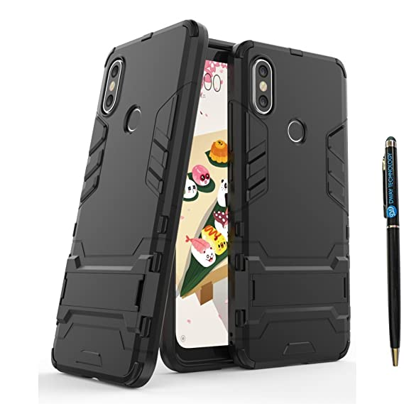 Xiaomi Mi A2 Lite Armor Case DWaybox 2 in 1 Hybrid Heavy Duty Armor Hard Back Case Cover with Kickstand for Xiaomi Mi A2 Lite/Redmi 6 Pro 5.84 Inch ...