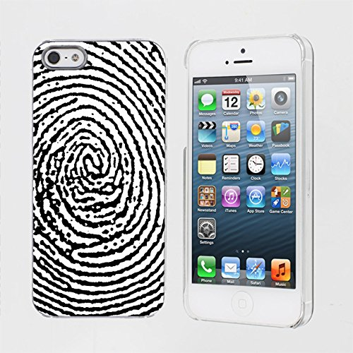 Price comparison product image Mobiflare,  Slim Clip-on Phone Case,  for [iPhone 5 / 5S] - Thumb Print