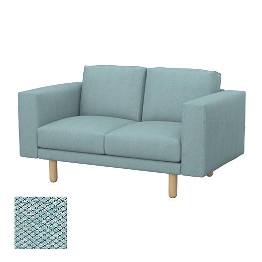 Soferia - IKEA NORSBORG Funda para sofá de 2 plazas, Nordic ...