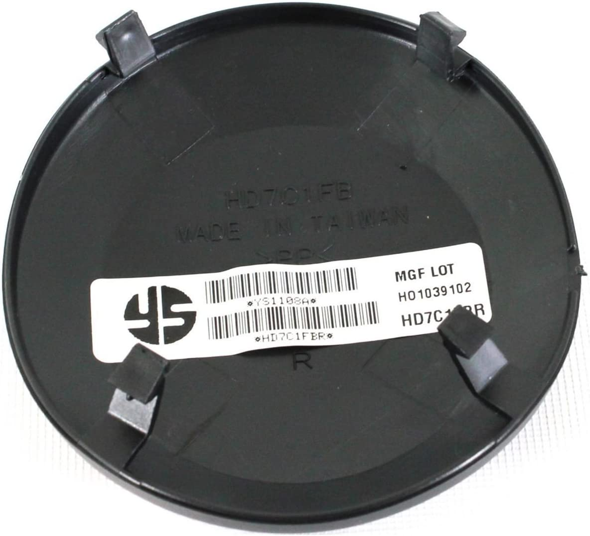 DAT Bumper Cover Cap Replacement for 09-11 Honda Pilot Black Front Right Passenger Side HO1039102