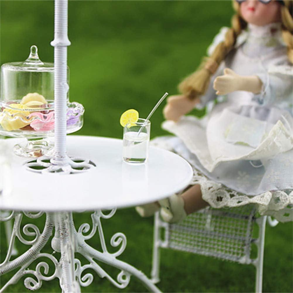 Ogquaton /Miniature Maison de poup/ée F/ée Jardin Simulation Verre De Limonade Boisson Enfant Jouet Al/éatoire Couleur Durable Et Utile