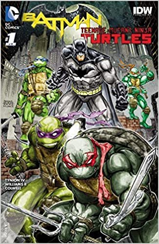 Batman Teenage Mutant Ninja Turtles #1 (of 6): Amazon.com: Books