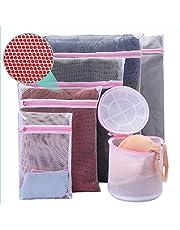 Mesh Laundry Bag 6 Pack Bra Washing Bag Travel Storage Organize Bag Lingerie Laundry Bag Men's Underwear Laundry Bag Clothing Washing Bags for Hosiery Blouse Socking