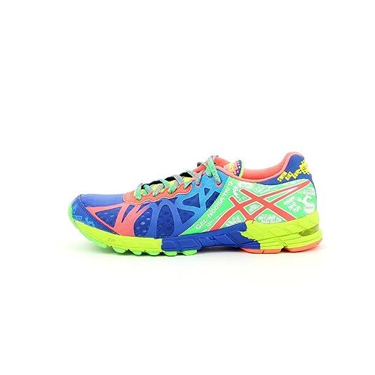Asics - Zapatillas asics noosa tri 9 para hombre, talla 44.5, color verde / azul / neoncoral