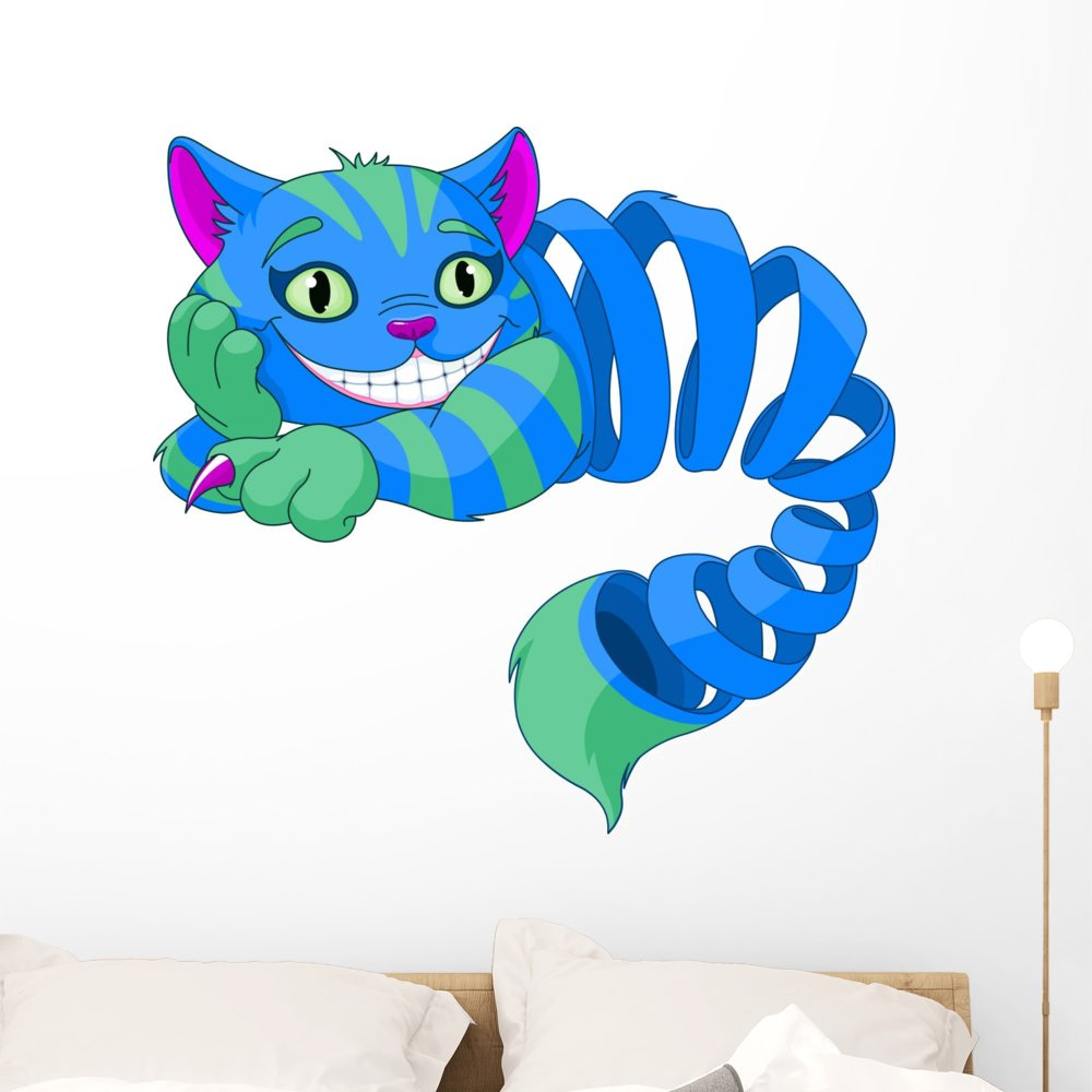 Amazon.com: Wallmonkeys desapareciendo gato de Cheshire ...