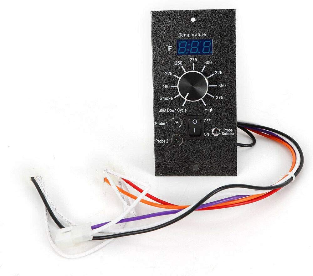 DONNGYZ Digital Heating Food Cooker Thermostat Control Board for Home Dinner Traeger Wood Pellet Controller AC 110V-120V(US Stock)