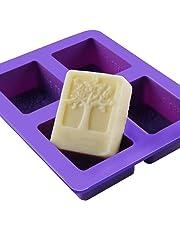 Gespout Moldes para Repostería Magdalenas Cookies Navidad Molde de Niños Molde de Jabón Chocolate Jalea Helado