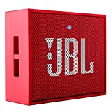 JBL GO Portable Wireless Bluetooth Speaker W/ A Built-In Strap-Hook (RED)