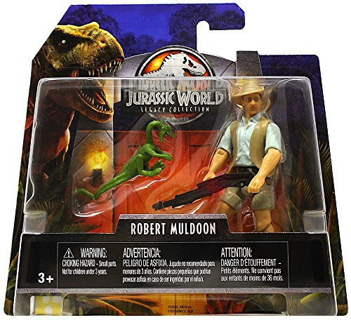 World Collection - Robert Muldoon & Compie Jurassic World Legacy Collection Posable Figure 3.75