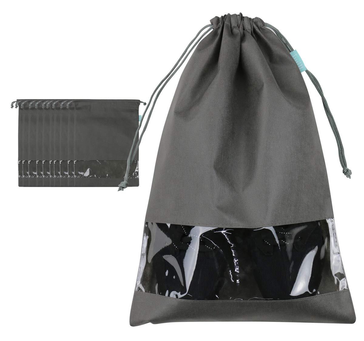 Shoe Organizer Bag, Portable Shoe Carry Box for Travel,Camo,4pcs I WILL XD-CAMO-US
