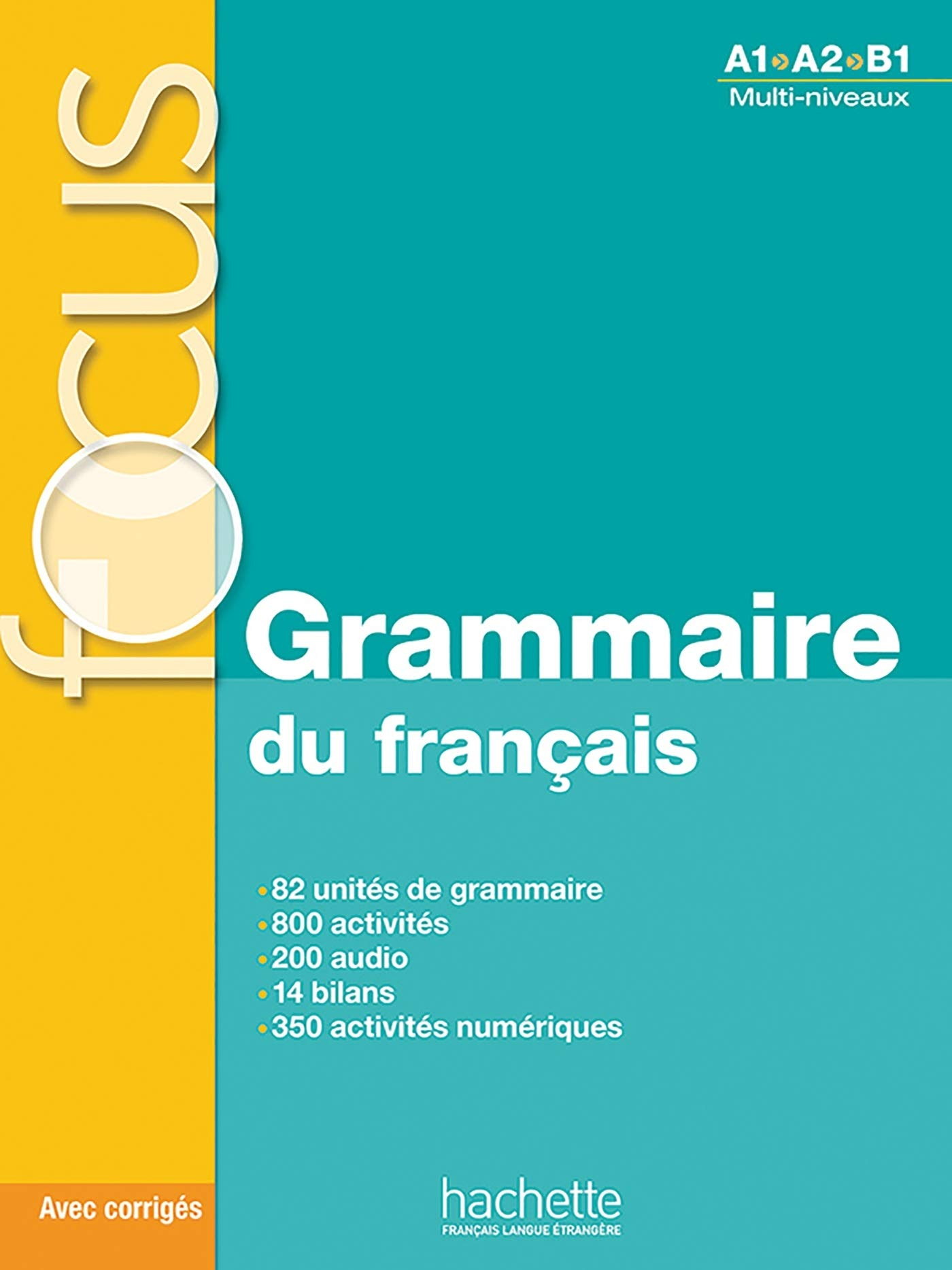 Grammaire Du Francais Livre Cd A1 B1 Focus Amazon