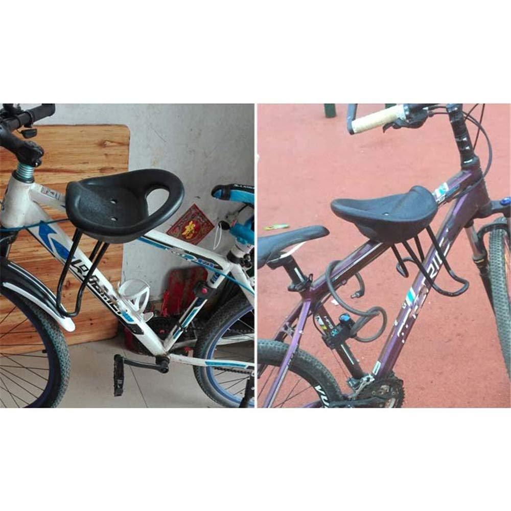 LKJCZ Seggiolino Bici per Bambini Mountain Bike Anteriore paraurti Bici Anteriore seggiolone Sgabello Bambino sgancio rapido Piccolo mazha