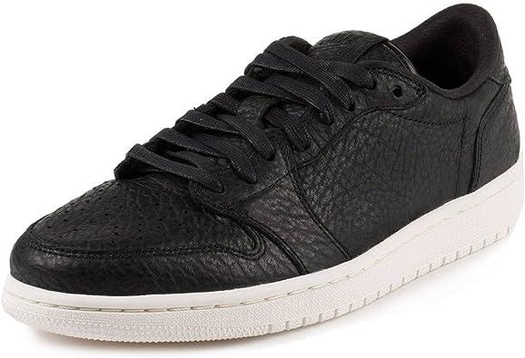 Nike Mens Air Jordan 1 Retro Low Black