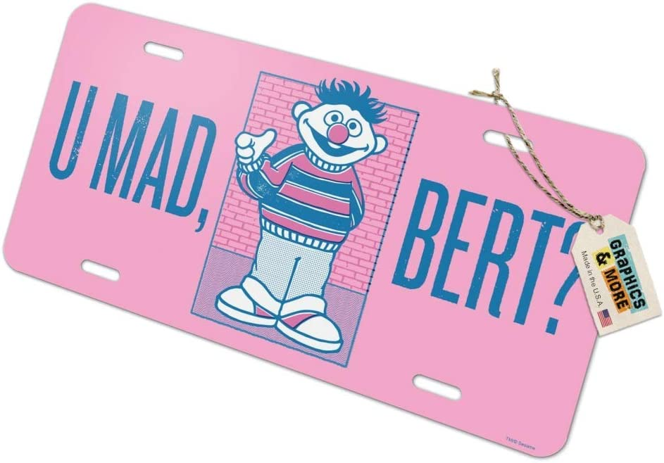 Can you tell me how  to get to sesame street license plate frame holder tag