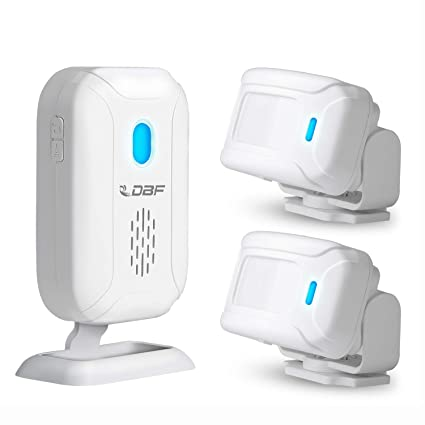 Dbf Wireless Home Security Driveway Alarm Motion Sensor Detect