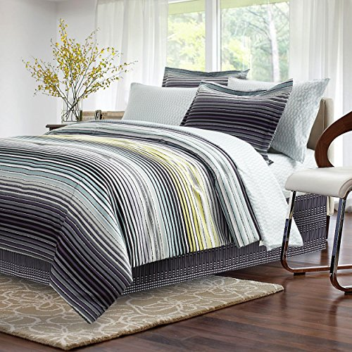 (Strata Dark Charcoal 8-piece Bed-In-Bag )