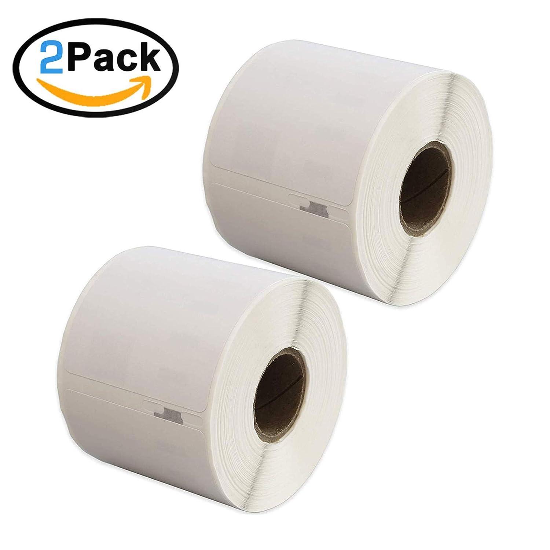 MadridGadgetStore® 2 Rollos Cintas de Etiquetas 99014 Compatible ...