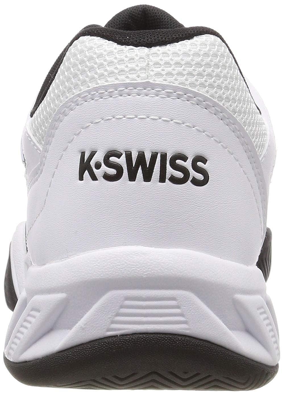 K-Swiss Performance Bigshot Light 3, Zapatillas de Tenis para Hombre, Blanco (White/Black 129M), EU