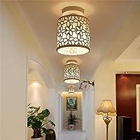 Iluminación de Techo,Focos Hueco de techo, Lampara Flore Moderno Hierro Luz Casquillo…
