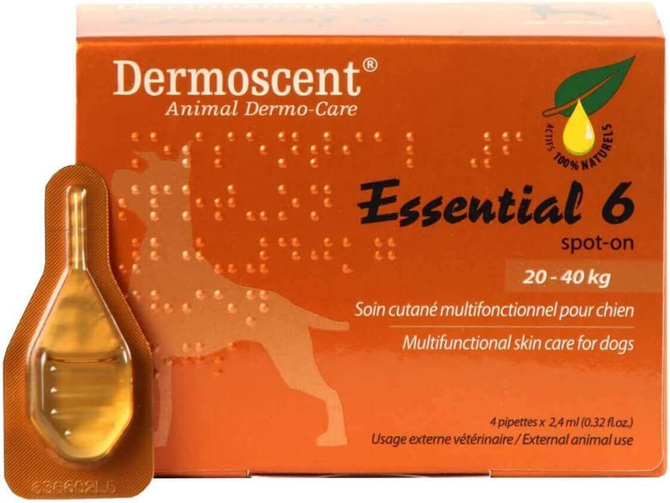 Dermoscent 6 Spot On Skin Care Extra Large Dogs 44-88 lbs (20-40kg)