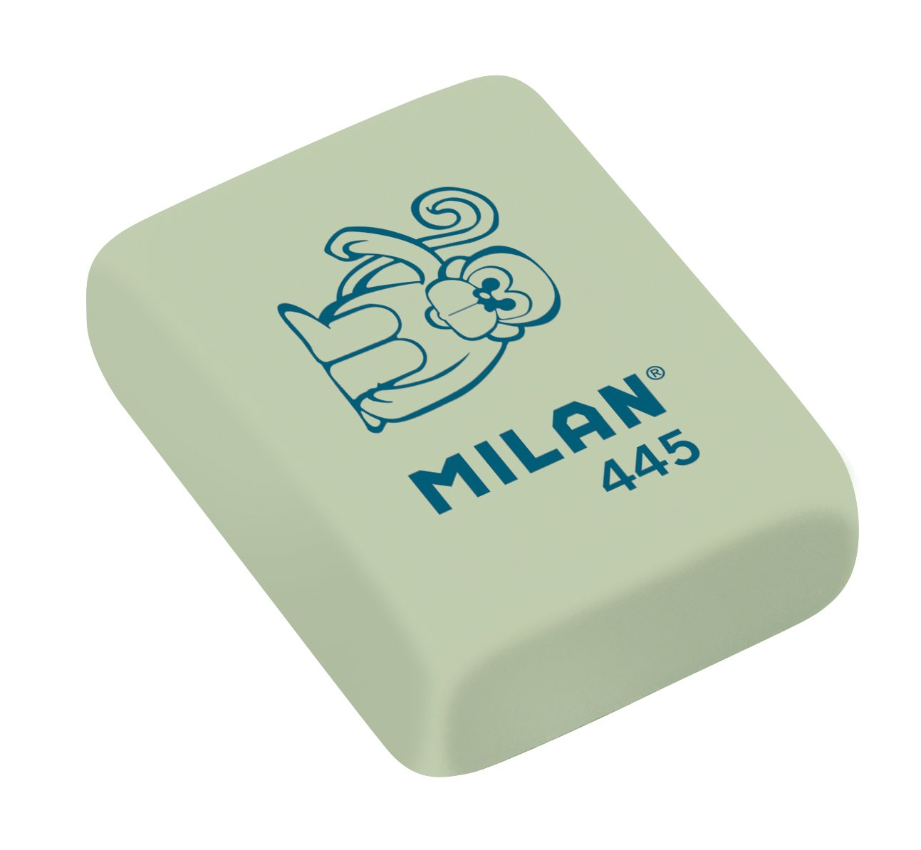 Pack of 5 Rubber Flexible Rubber erasers Assorted Figurines Model Milan BMM9222