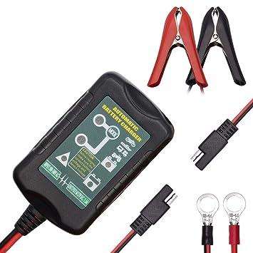 Cargador de batería de Goteo Automático Mantenedor 6V 12V ...