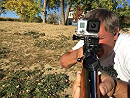 Shotgun Mount for Gopro - Works on All Gun Barrells - Rifles and Scopes Too.
