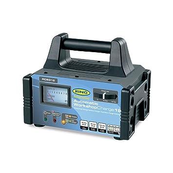 Ring Automotive Anillo RCB312 12 Amp Cargador de batería Taller 6 12v